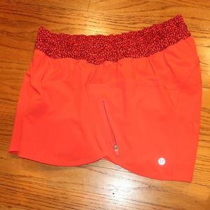 lululemon athletica Shorts - Lululemon Lined Tracker Shorts sz 12